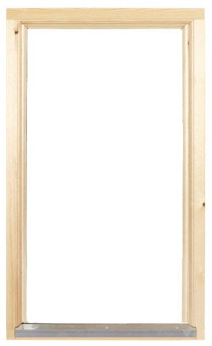 Fast Fönster 2-glas Obehandlad