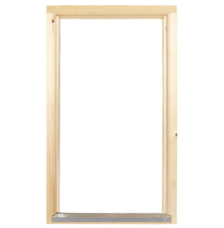 Fast fönster 2-glas Obehandlat