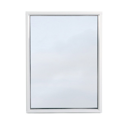 Fast Fönster 3-glas Vit