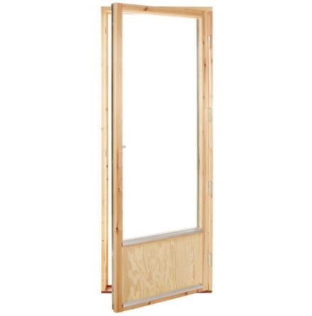 Fönsterdörr 2-glas Obehandlad