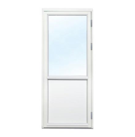 Fönsterdörr 3-glas Vit