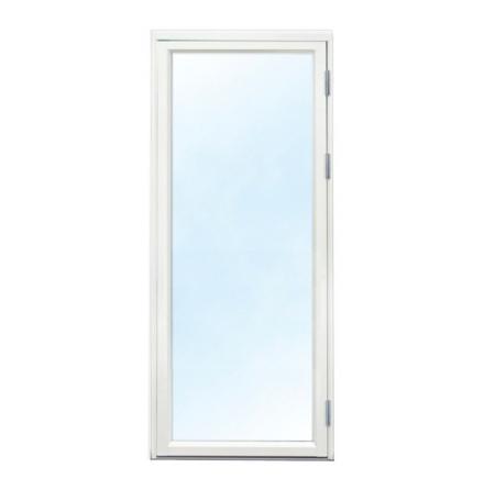 Fönsterdörr 3-glas Trä-Alu Vit